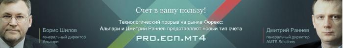 Торговля на ECN счетах Альпари